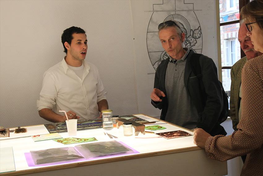 L atelier, spacieux, vous met dans d excellentes conditions  d apprentissage. Il est situé dans le Pays d Auge, à proximité de la mer. b3cdfd87d50